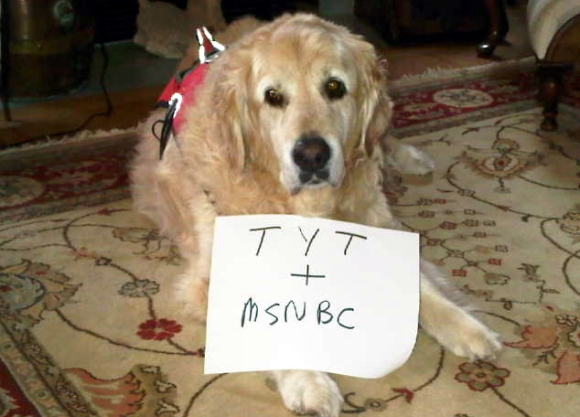 Buddy supports the Young Turks' cause