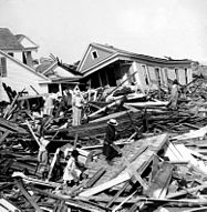 Damage post Galveston Hurricane