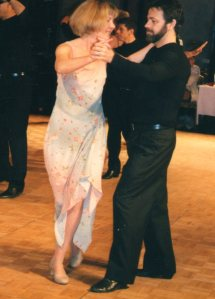 Ken and me at the 2003 CanAm DanceSport Competition -- Best Newcomer Couple
