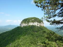 Pilot Mountain in North Carolina