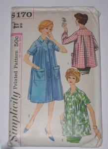 A housecoat pattern