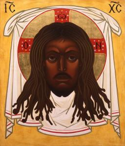 Black Christ . . . and he's looking some mad!