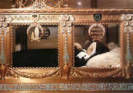 Bernadette coffin