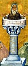 Stylite saints demonstrated their piety by living on top of columns.  Well, somebody's got to do it.