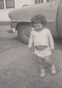 Me at two. Ever onward.