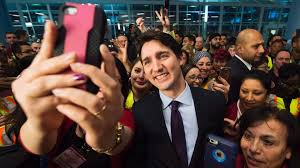 Trudeau welcomes Syrian refugees